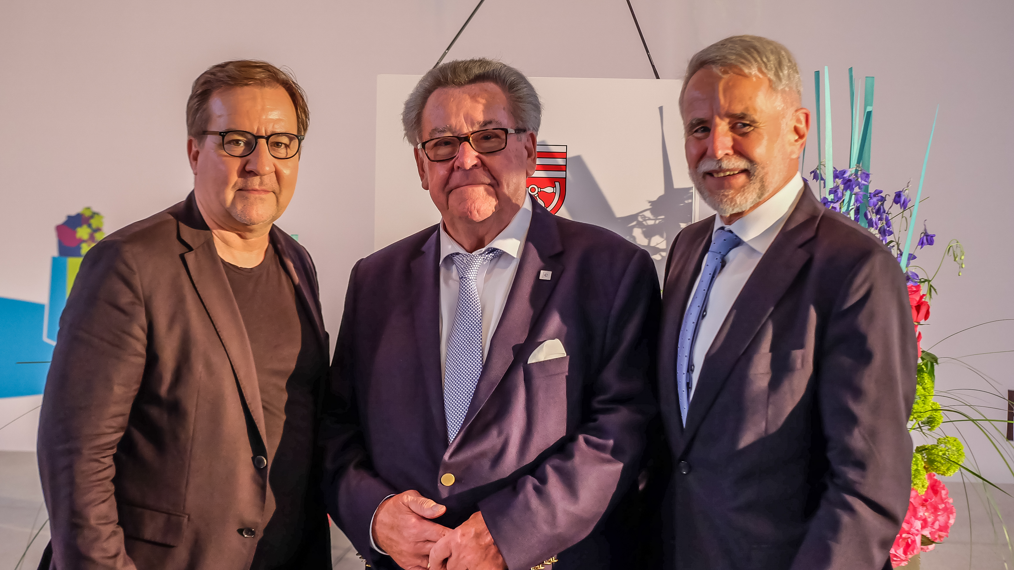 Andreas Gaul mit P. Eckes Zornheim
