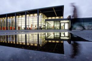 Rheingoldhalle Außenbereich