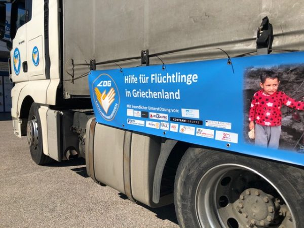 Truck Griechenland | Gauls Catering | Wings of Help